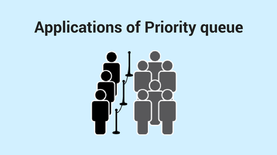 Applications of priority queue, circular queue, deque | Queue data